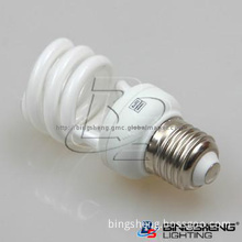 Cheap E27 9W T2 Half spiral CFL light bulb