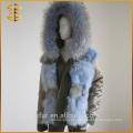 Фабрика Прямая продажа Леди Куртки Пальто Женская молния Женщины Fur Parka