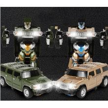 Рождественский подарок игрушки машины для мальчиков воздушный жест трансформатор Роберт RC автомобили
