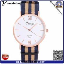 Yxl-474 2016 мода часы нейлон ремешок Стиль DW часы Браслет наручные часы Кварцевые Спорт НАТО ремешок мужчины часы