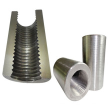 Galvanized Sharp Rebar Splicing Coupler