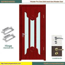 Puerta de baño de PVC Puerta de PVC europea Panel de puerta