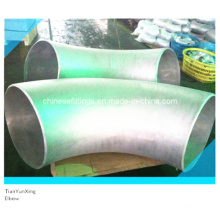 R = 3D, 5D Codos de curvatura de acero inoxidable soldadas