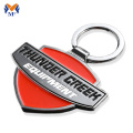 Metal custom engraved enamel key chain