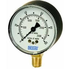 Low Range Pressure Gauge