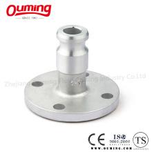 F Type Circular Flange Stainless Steel Camlock Coupling