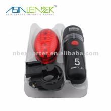 LED Fahrrad Licht Set mit Rücklicht und Frontleuchte BT-3617 Fahrrad Licht Set