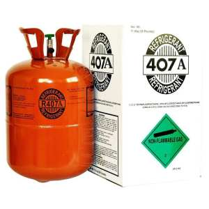New Refrigerant r407a gas 25lb cylinders