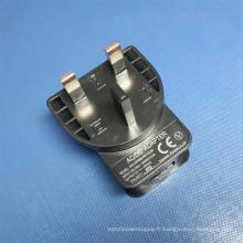 Chargeur secteur UK AC / DC 5V 1A USB