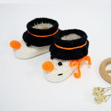 Padrão de crochê de sapatos de bebê de alta qualidade