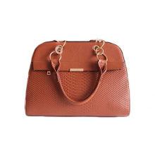 Milan hot sale fashion croco lady red handbags