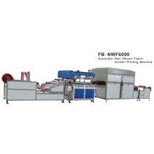 Fb-nwf6090 Non-woven Fabric Automatic Screen Printing Machine