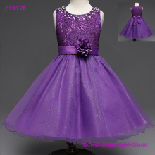 Princess Bling Flower Girl Dresses 2017 New Sheer Long Sleeves First Communion Birthday Party Dresses Girls Pageant Dress