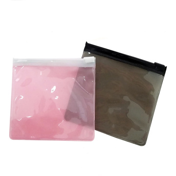 Thicken PVC Plastic Bag Pink voor Jade