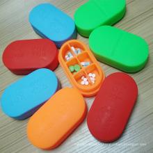 Food Grade Nontoxic Silicone Pills Box Pills Case
