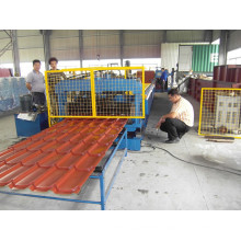 2015 new style high strength corrugated roof tile panel roll forming machine