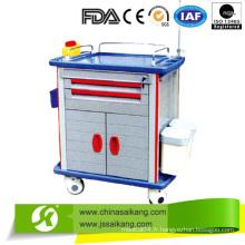 Chariots de chariot d'anesthésie de luxe (CE / FDA / ISO)