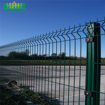 Galvanized+3d+Curved+Welded+Fence+Panels+Design