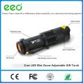 Mini-Taschenlampe Aluminium-Legierung Rechargable 7W 300LM Mini führte Taschenlampe