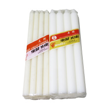 wholesale paraffin wax candles white pillar candle