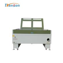 Máquina láser de CO2 de cabeza doble 1410 para cuero