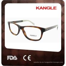 El marco rojo estándar del CE clasifica el marco óptico más popular de las gafas 2017