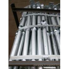 FEUERVERZINKTEN Stahl Glavanized Tauchrohr für Handlauf