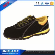 Zapatos de seguridad deportivos de cuero de gamuza de marca ligera Ufa089