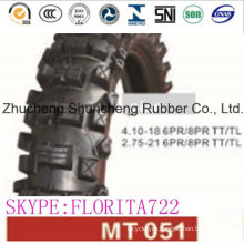 Motorcycle Tyres Motorcycle Parts Tires (4.10-18)