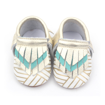 Chic Geometric patterns Moccasins Baby Shoes