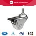 2 inch 80kg Gegoten Brake PO Machine Caster