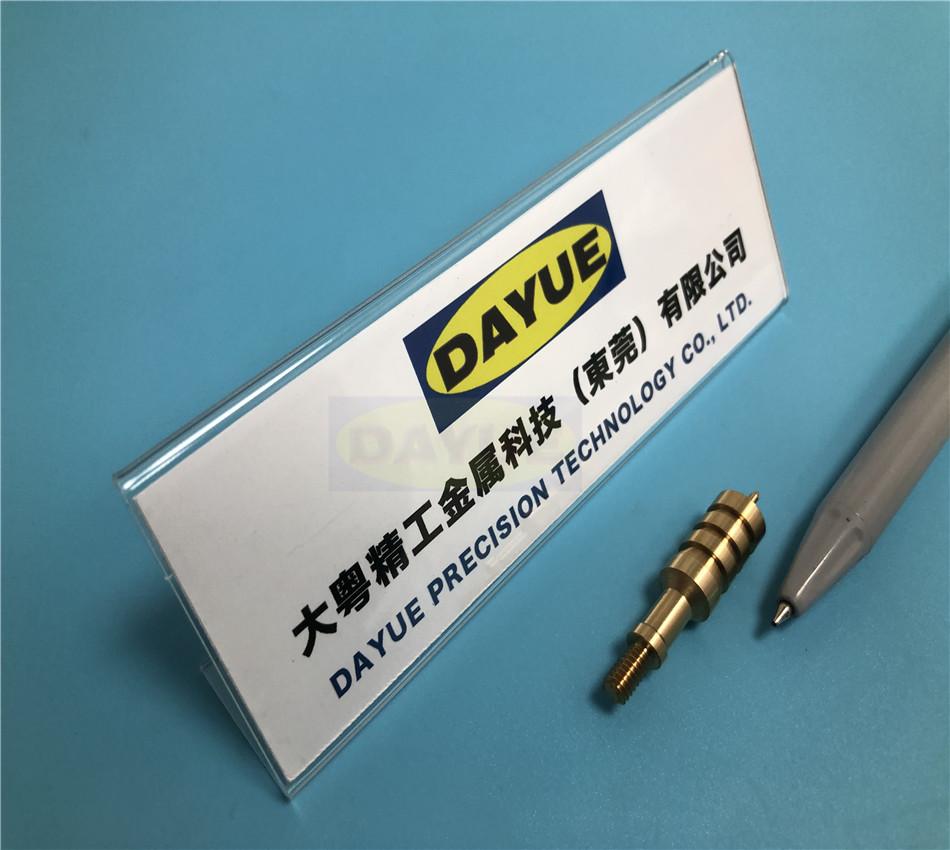 Automatic Lathe Machining Brass Parts