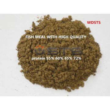 Poissons repas de volaille d'alimentation pour l'alimentation animale