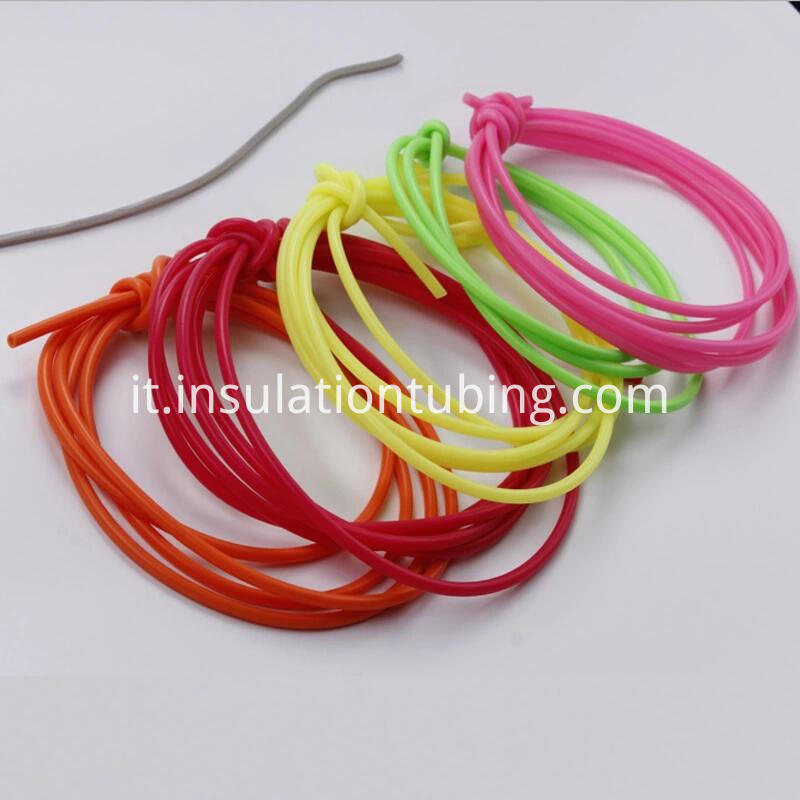 Fluorescent night light heat-shrinkable tube