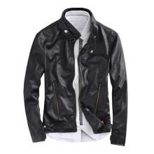15PKPU02 2016 haute qualité hommes hiver vente chaude veste en cuir