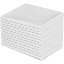 Discount White Plain Style 300TC OEM PillowCover / Pillow Case