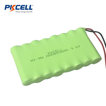 Ni-mh AAA800mah 9.6v Rechargeable Battery For Toys