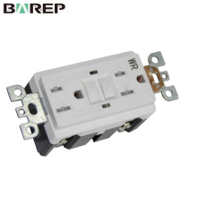 China supplier GFCI receptacle different types of sockets