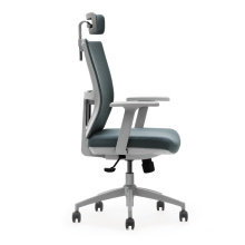 high back manager chair with adjustable lumbar