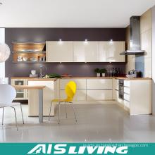 Muebles modulares de gabinetes de cocina de alto brillo (AIS-K441)