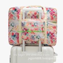 Travel Duffel Bag for Women Foldable Carry On Express Weekender Organiser