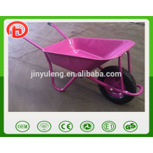 WB5009 hot sale durable steel construction wheel barrow load 120kg