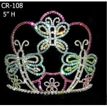 Coronas de tiara mariposa de Pascua