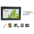 Cadre photo numérique LCD multifonctionnel 10 pouces avec mur de montage VESA