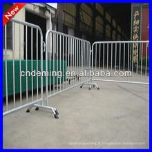 Barrières de sécurité pour piétons galvanisées à chaud
