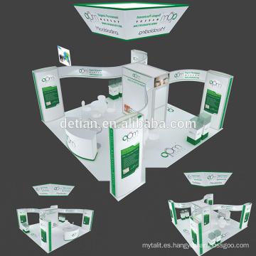 Detian offer 6x6 colgando pancarta expo stand exposición exhibición personalizar