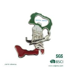 Angepasste 3D Logo Soft Emaille Flaschenöffner