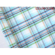 Checks Polyester Cotton Yarn Dyed Shirt Fabric Djx039