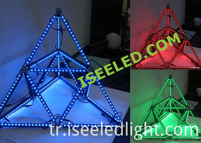 3D Effect Geometry Tube Light
