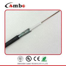 Buried / Duct / Aerial Anwendung mettalic Band gepanzert Multi-Paare SM / MM Geschwindigkeit der Glasfaser-Kabel